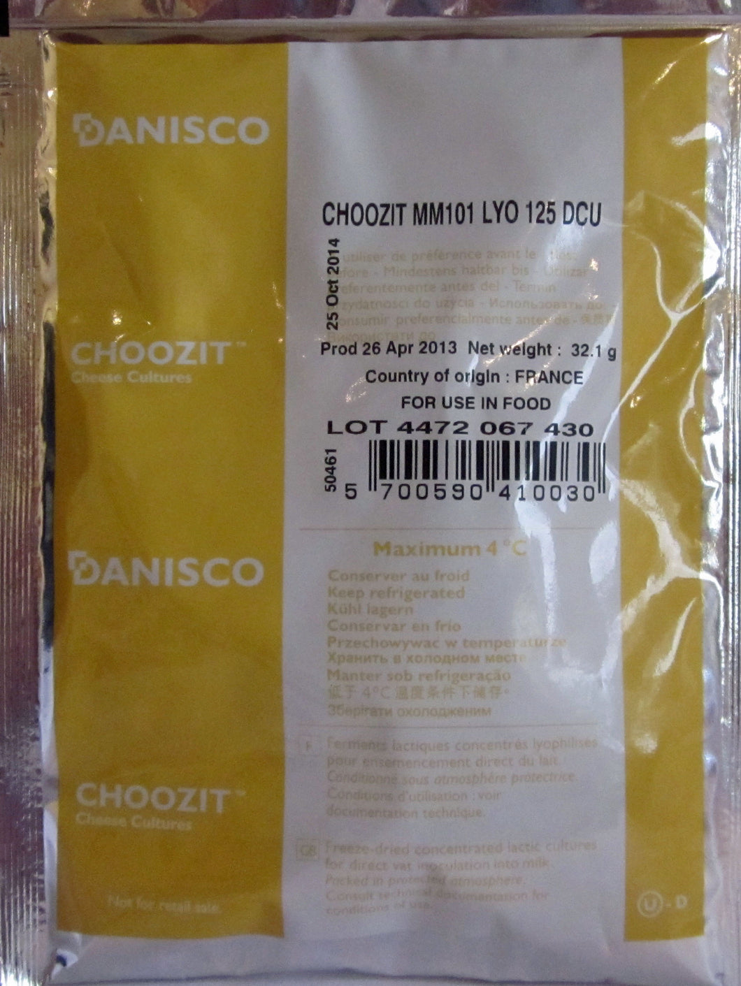 Danisco CHOOZIT MM101