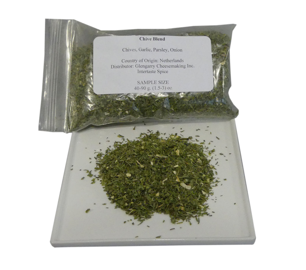 Chive Blend Sample, 40-90 g.