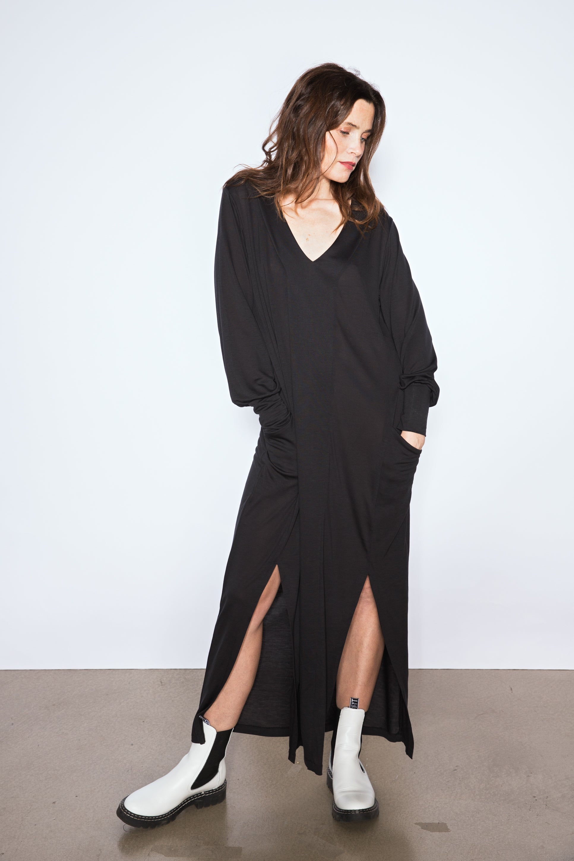 The Long Sleeved Kaftan Dress