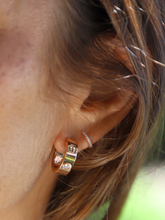 Load image into Gallery viewer, Cartier Rose Gold LOVE Diamond Earrings