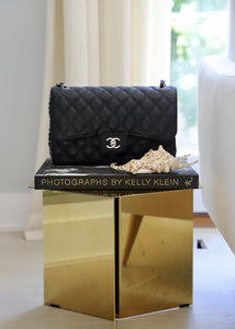Chanel Caviar Jumbo Double Flap Handbag