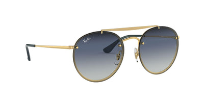 91400S - Gold - Clear Gradient Blue