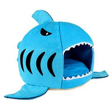 Load image into Gallery viewer, Shark Shape Pet Bed | Cute, Comfortable and Warm