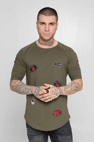 Crossover T-Shirt Route 66 (Khaki)