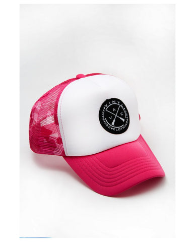 Vinyl Art Pink Army Hat