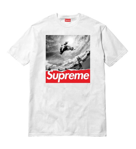 Supreme Skateboarding T-Shirt (White)