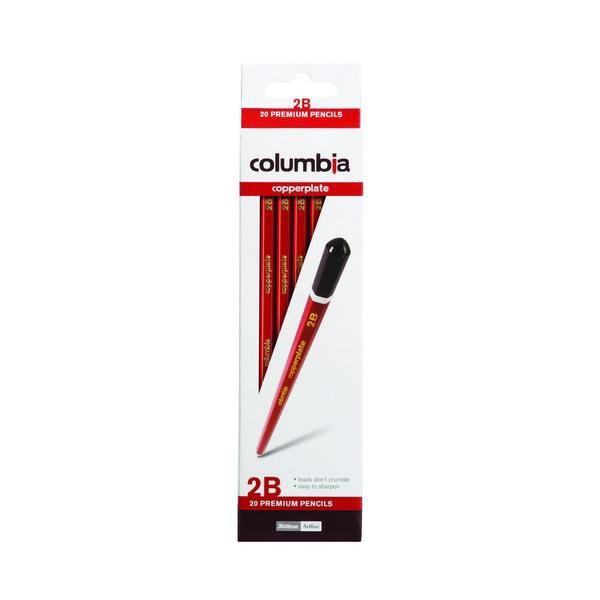 ACCO 2B Pencil Columbia Copperplate