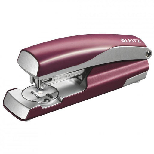 ACCO 30 Sheet Leitz Stapler - Garnet Red