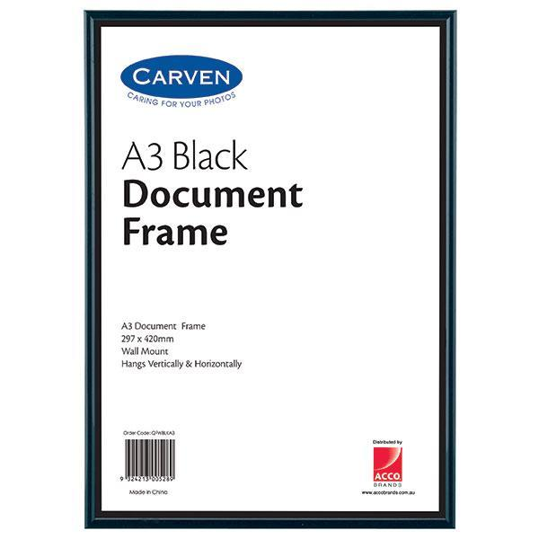 ACCO A3 Document Frame Black