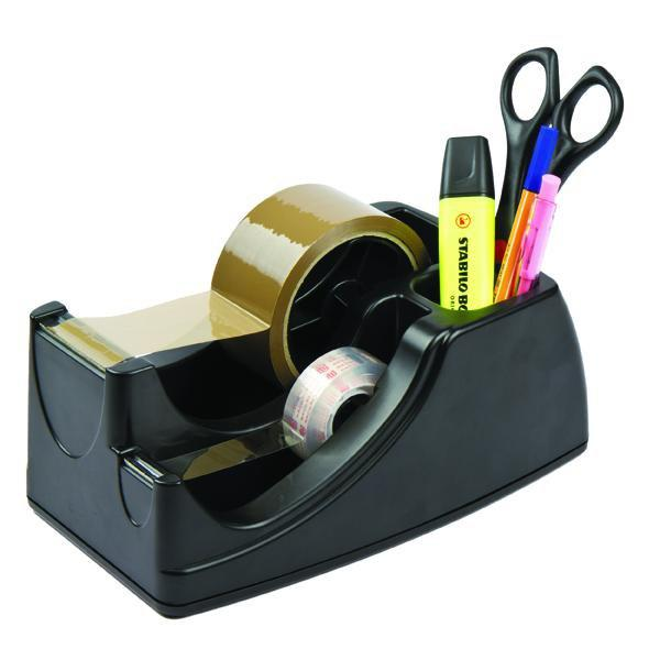 ACCO Celco 2 in 1 Tape & Accessories Dispenser