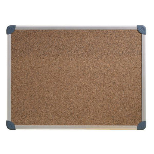 ACCO Corkboard With Aluminium Frame 1200 x 900mm