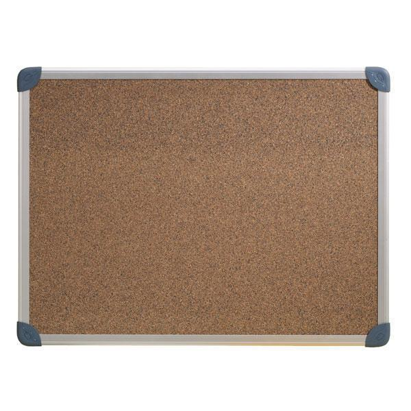 ACCO Corkboard With Aluminium Frame 900 x 600mm