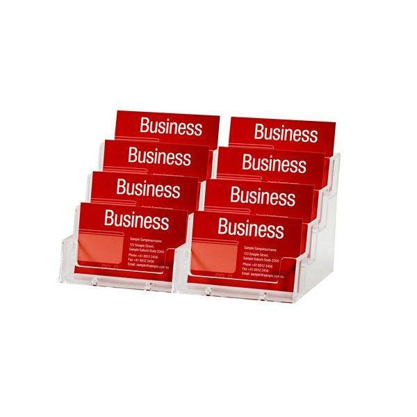 ACCO Esselte Business Card Holder 8 Slots
