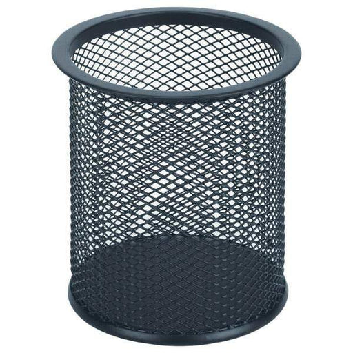ACCO Esselte Mesh Pen Holder - Black