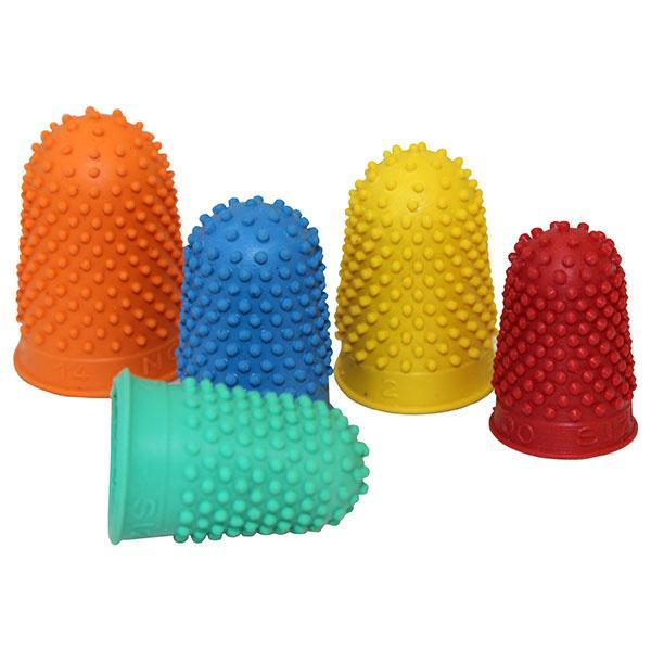 ACCO Finger Cone Assorted Sizes & Colours x 10's