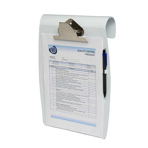 ACCO Marbig A4 Hanging Clipboard - White