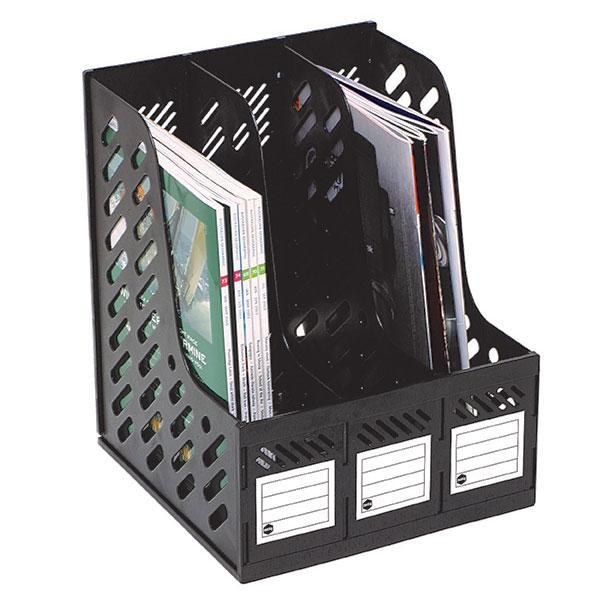 ACCO Marbig Magazine Holder 3 Compartments