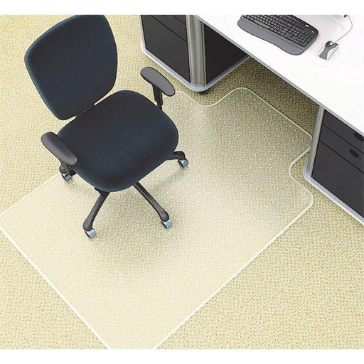 ACCO Marbig PVC Chairmat 910 x 1210mm For Medium Pile Carpets