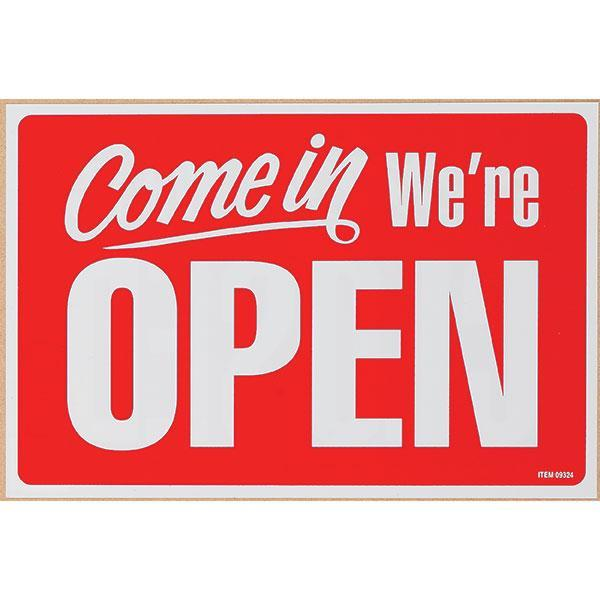 ACCO Open / Closed Sign - 200 x 300mm