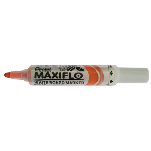 ACCO Pentel Maxiflo Whiteboard Marker Fine Tip Orange