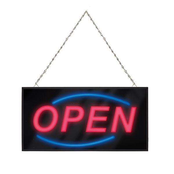ACCO Quartet LED Open Sign 205 x 405mm