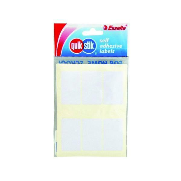 ACCO Quikstik Rectangle White Labels 24 x 72mm