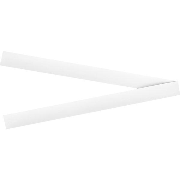 ACCO Rewriteable Magnetic Strips 25mm x 300mm - White