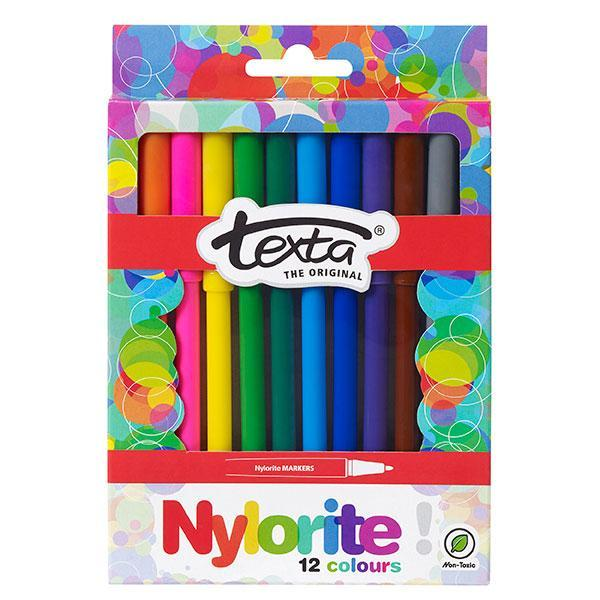 ACCO Textra Nylorite Colour Pens 12's