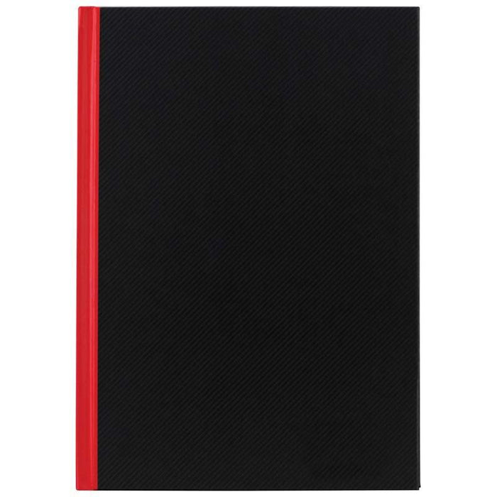ACME A4 Red & Black Notebook