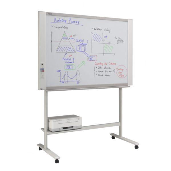 Acme Plus N20 Whiteboard 4-Screen + Stand + Printer