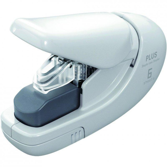 Acme Plus StapleLess Stapler White