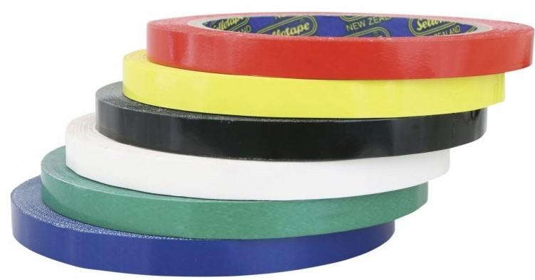 Acme Produce Bag Sealing Tape 9mm x 66mt Yellow