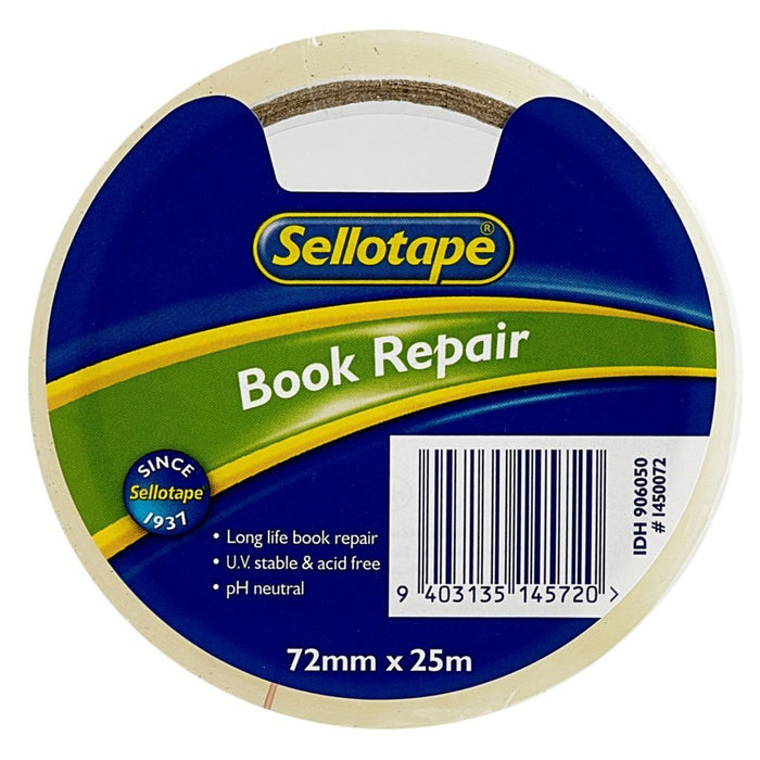 Acme Sellotape Book Repair Tape 72mm x 25mt