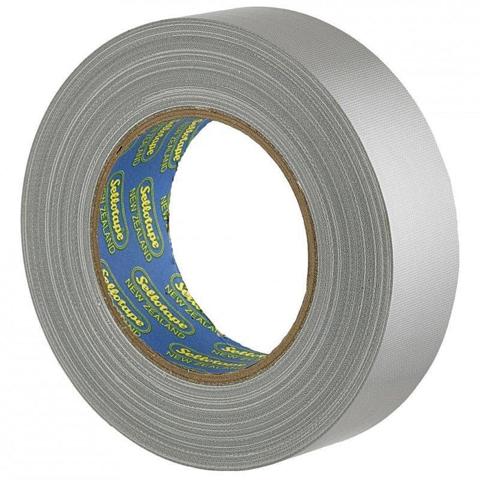 Acme Sellotape Silver Cloth Tape 36mm x 30mt