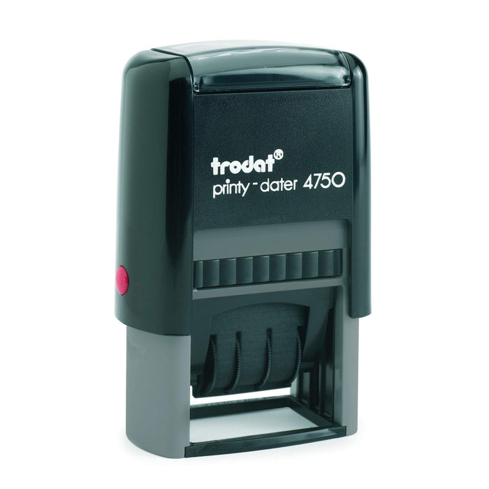 Acme Trodat Printy 4750 Dater + EMAILED Rubber Stamp
