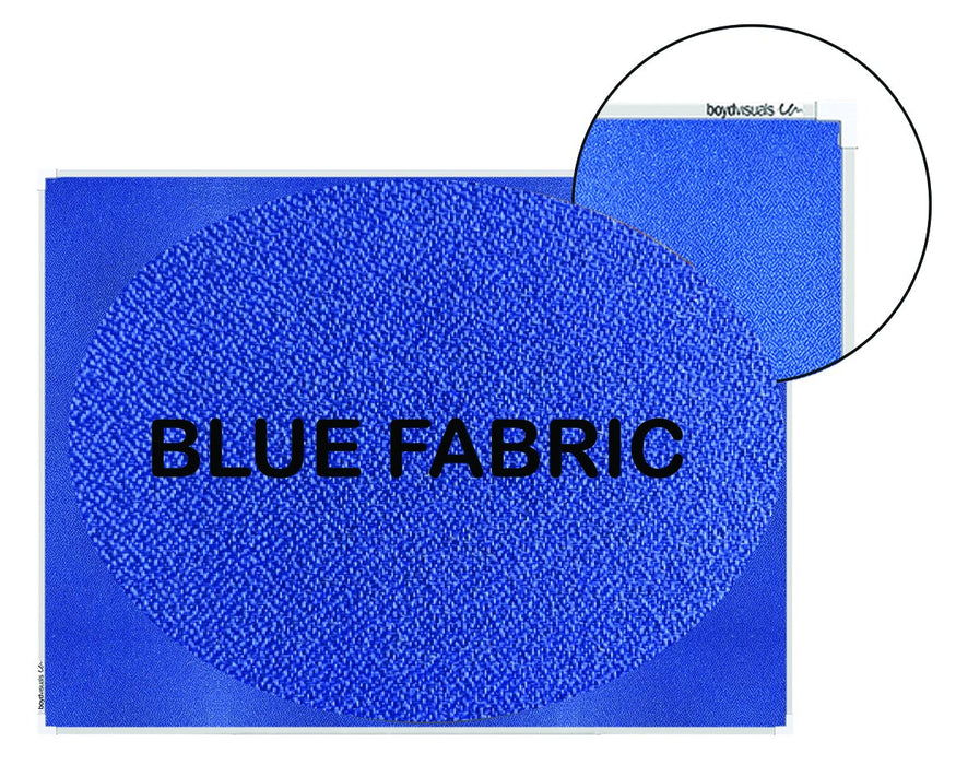 Boyd Visuals Pinboard / Notice Board 1200mm x 1500mm - Blue