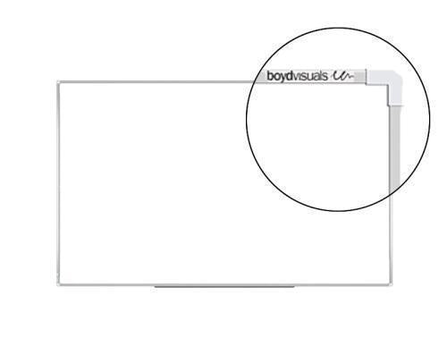 Boyd Visuals Whiteboard 1200 x 2400mm - Magnetic