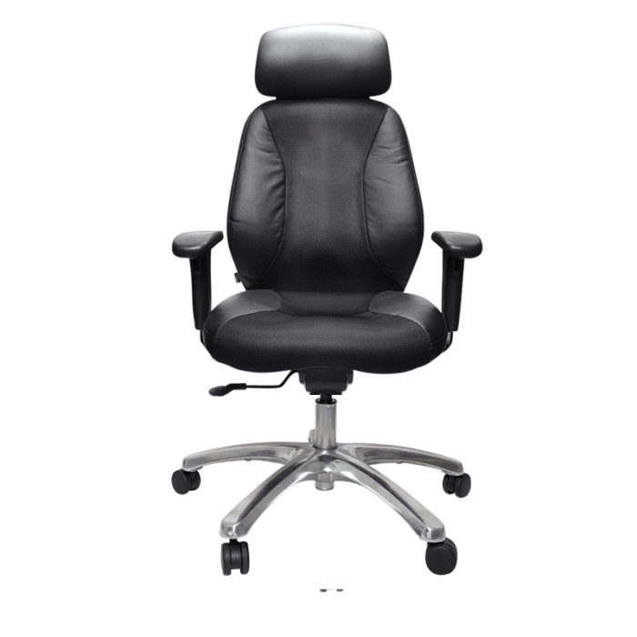Buro Seating Buro Everest High Back Chair with Head Rest