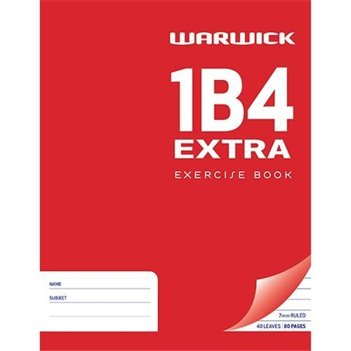 Croxley 1B4 Warwick Exercise Book - Extra