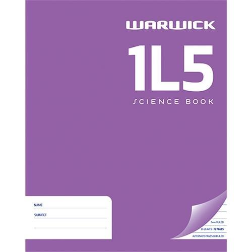 Croxley 1L5 Warwick Exercise Book