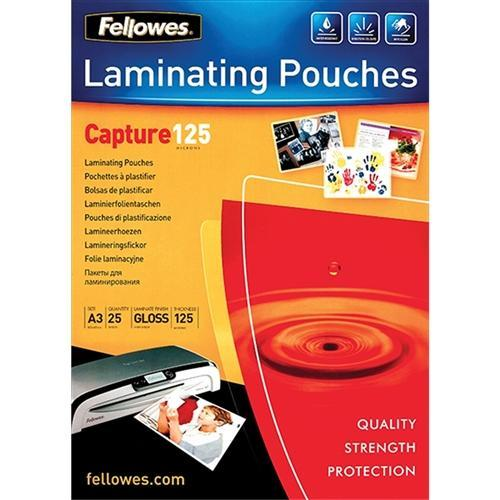 Croxley A3 Gloss Laminating Pouch 125 micron x 25's