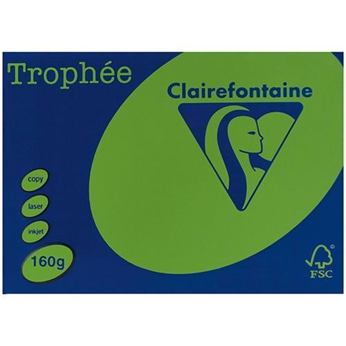 Croxley A4 160gsm Trophee Card Intensive Green x 250