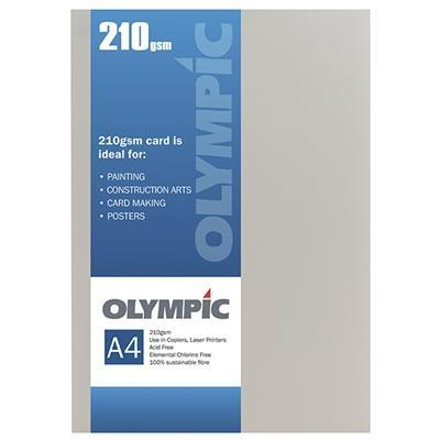 Croxley A4 210gsm Olympic Card Cream x 12