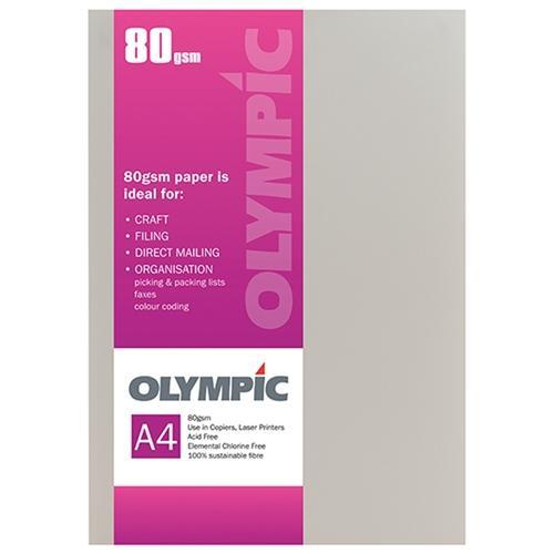 Croxley A4 80gsm Olympic Paper Cream x 30