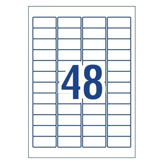 Croxley Avery L4778 Weather Resistant Labels 48's x 20 Sheets