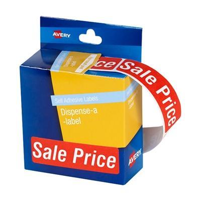 Croxley Avery Printed Labels Dispenser pack - 'SALE PRICE'