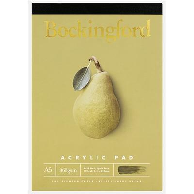 Bockingford A5 Acrylic Pad - 360gsm