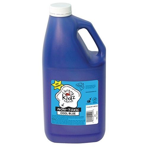 Chroma Kidz Paint 2 Litres - Cool Blue