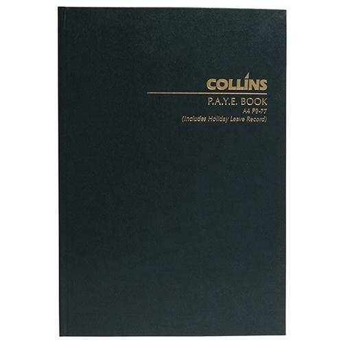 Croxley Collins A4 P9-77 Wage / PAYE Record Book
