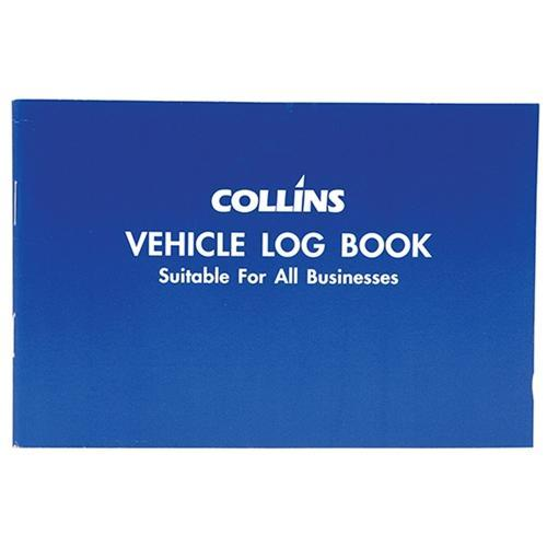 Croxley Collins Vehicle Log Book